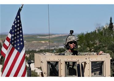 قاعدة أمريكية بمساعدة الأكراد في ريف الحسكة شرق سوريا