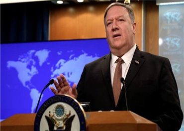 بومبيو يتهم إيران بالمسؤولية عن هجوم استهدف السعودية