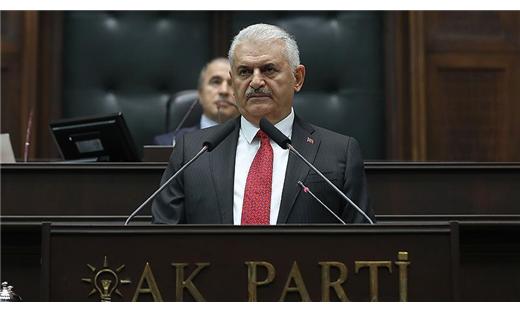 """""""العدالة والتنمية"""" التركي ينتخب يلدريم لرئاسة كتلته البرلمانية"""