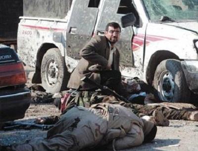تدمير قاعدة عسكرية عراقية 2014383.jpg