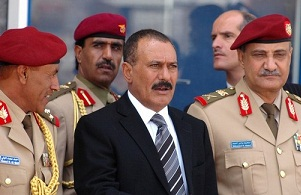 صالح يسعى لتشكيل مجلس عسكري من أفراد عائلته